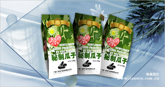 广灵广宽农产品 瓜子包装设计 食品包装设计 [包装设计]